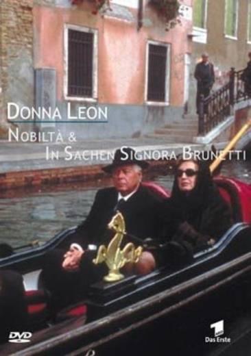DVD Donna Leon Noblità & In Sachen Signora Brunetti FSK: 12
