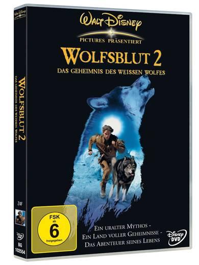 DVD Wolfsblut 2 Das Geheimnis des weißen Wolfes FSK: 6