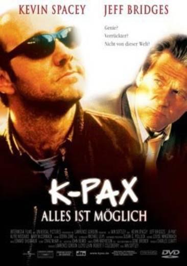 DVD K-Pax Alles ist möglich FSK: 12