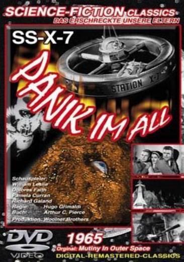 DVD SS-X-7 Panik im All FSK: 12