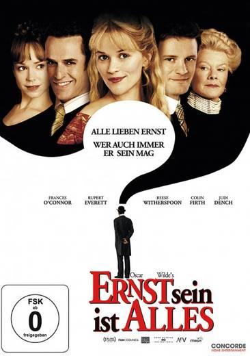 DVD Ernst sein ist alles FSK: 0