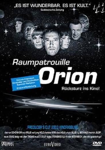 DVD Raumpatrouille Orion Rücksturz ins Kino! FSK: 6