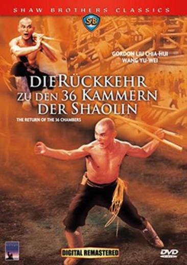 DVD Die Rückkehr zu den 36 Kammern der Shaolin FSK: 16