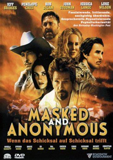 DVD Masked and Anonymous FSK: 12