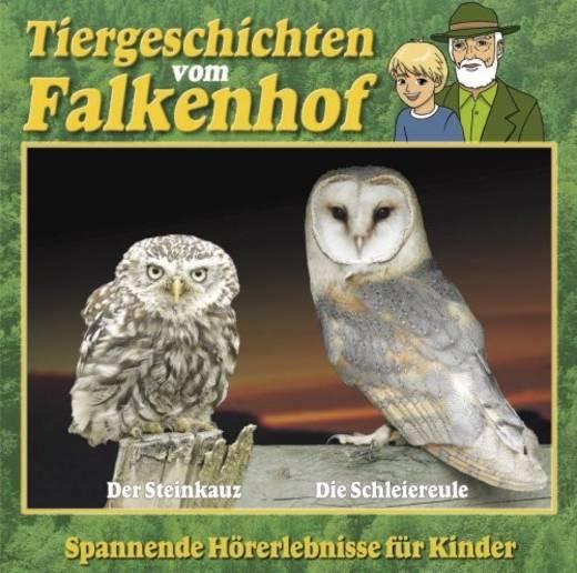 DVD Tiergeschichten vom Falkenhof Steinkauz und Schleiereule FSK: 0