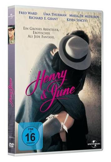 DVD Henry & June FSK: 16