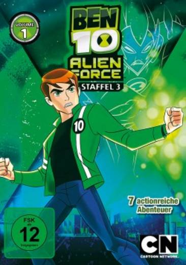 DVD Ben 10: Alien Force FSK: 12