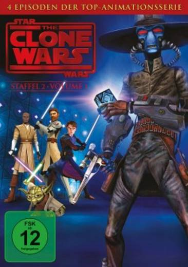 DVD Star Wars: The Clone Wars FSK: 12