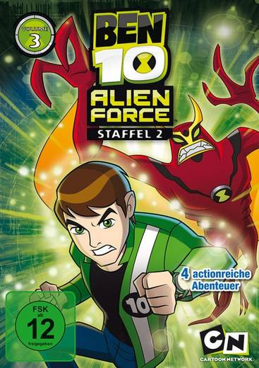 DVD Ben 10: Alien Force FSK: 12