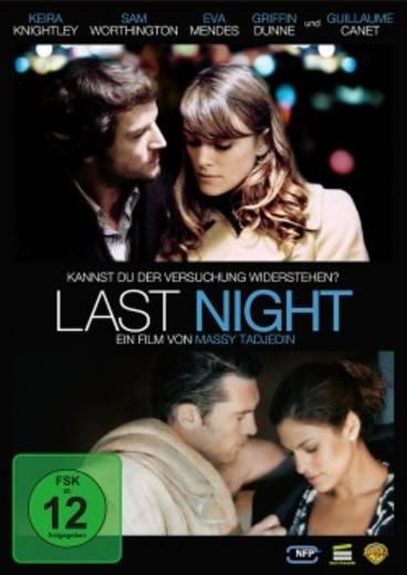 DVD Last Night FSK: 12
