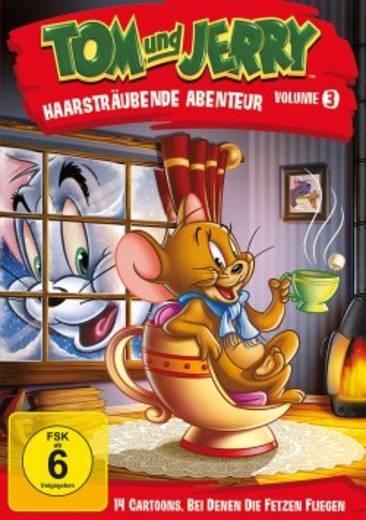DVD Tom und Jerry Haarsträubende Abenteuer FSK: 6