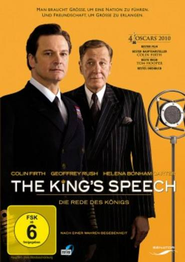 DVD The Kings Speech Die Rede des Königs FSK: 6