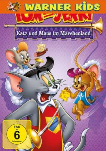 DVD Tom & Jerry Katz und Maus im Märchenland FSK: 6
