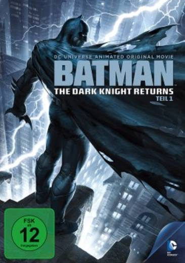 DVD Batman The Dark Knight Returns FSK: 12