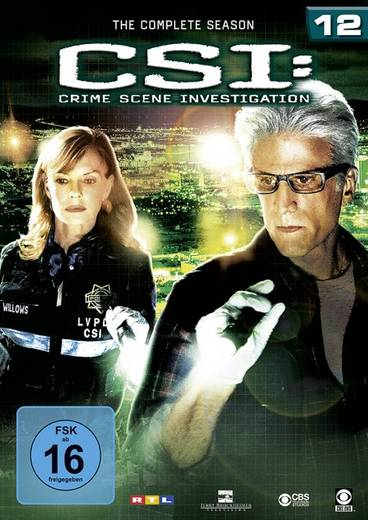 DVD CSI: Crime Scene Investigation FSK: 16