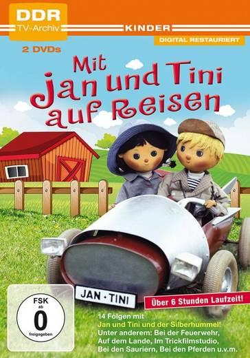 DVD Mit Jan und Tini auf Reisen FSK: 0