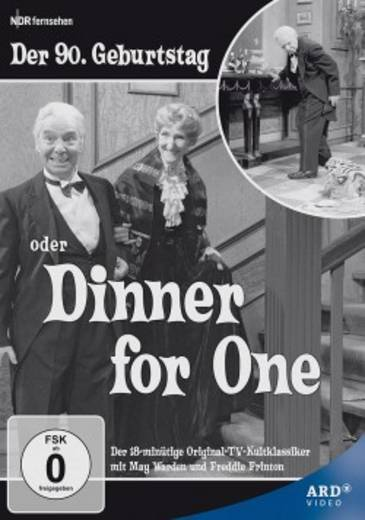 DVD Dinner for one Der 90. Geburtstag FSK: 0