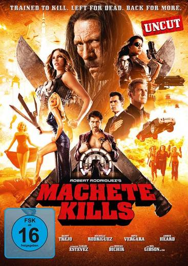 DVD Machete Kills FSK: 16