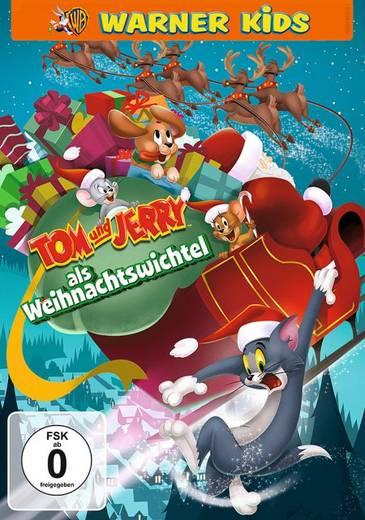 DVD Tom und Jerry als Weihnachtswichtel FSK: 0