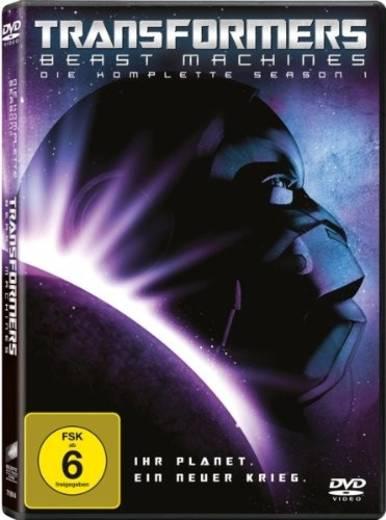 DVD Transformers: Beast Machines Die komplette Season 1 FSK: 6