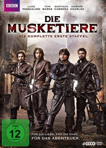 DVD Die Musketiere FSK: 12