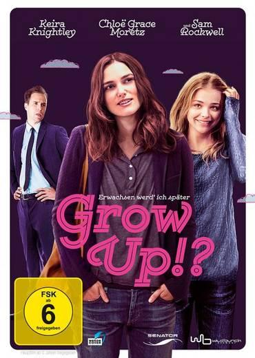DVD Grow Up!? Erwachsen werd ich später FSK: 6