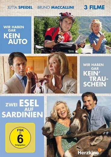 DVD Wir haben gar kein Auto & Wir haben gar kein Trauschein & Zwei Esel auf Sardinien FSK: 6