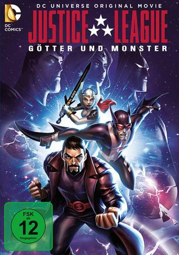 DVD Justice League Götter und Monster FSK: 12