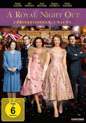 DVD A Royal Night Out 2 Prinzessinnen. 1 Nacht. FSK: 6