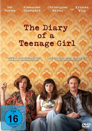 DVD The Diary of a Teenage Girl FSK: 16