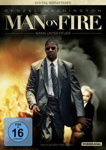 DVD Man on Fire Mann unter Feuer FSK: 16