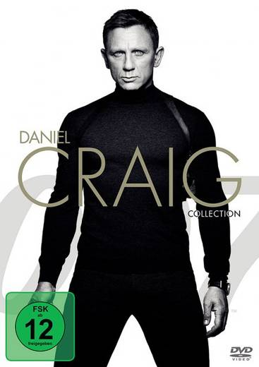 DVD Daniel Craig Collection FSK: 12