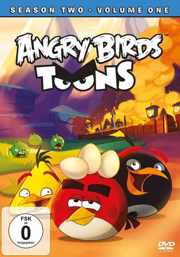 DVD Angry Birds Toons FSK: 0