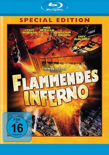 blu-ray Flammendes Inferno FSK: 16