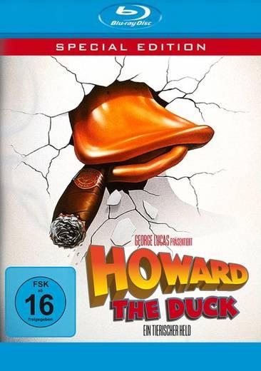 blu-ray Howard The Duck Ein tierischer Held FSK: 16