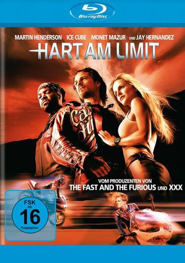 blu-ray Hart am Limit FSK: 16