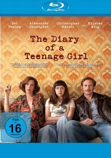 blu-ray The Diary of a Teenage Girl FSK: 16