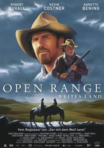 DVD Open Range Weites Land FSK: 12
