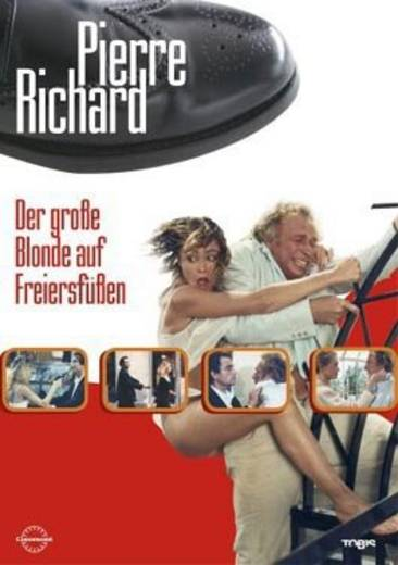 DVD Pierre Richard Der große Blonde auf Freiersfüßen FSK: 16