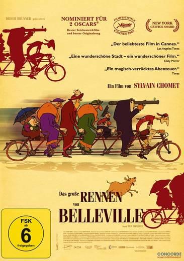 DVD Das große Rennen von Belleville FSK: 6