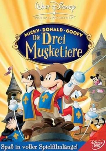 DVD Micky Donald Goofy Die drei Musketiere FSK: 0