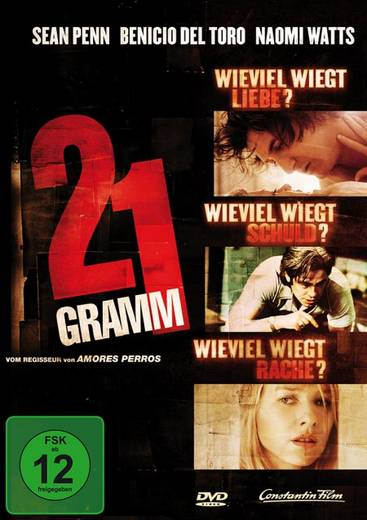 DVD 21 Gramm FSK: 12
