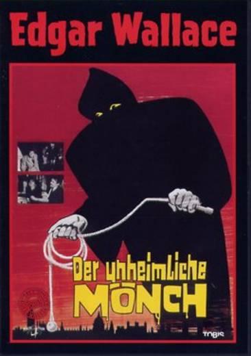 DVD Edgar Wallace (1965) Der unheimliche Mönch FSK: 12