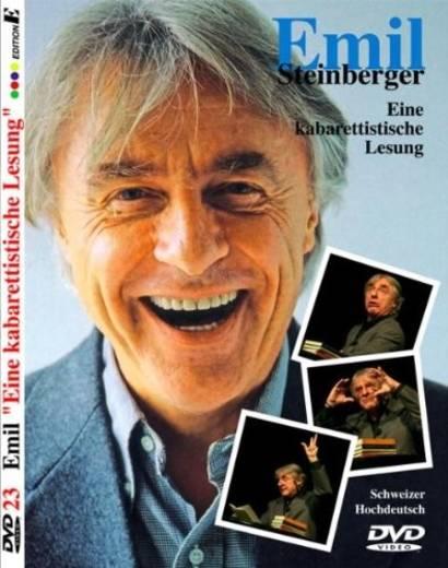 DVD Emil Steinberger Eine kabarettistische Lesung FSK: 0