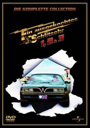 DVD Ein ausgekochtes Schlitzohr 1-3 FSK: 12