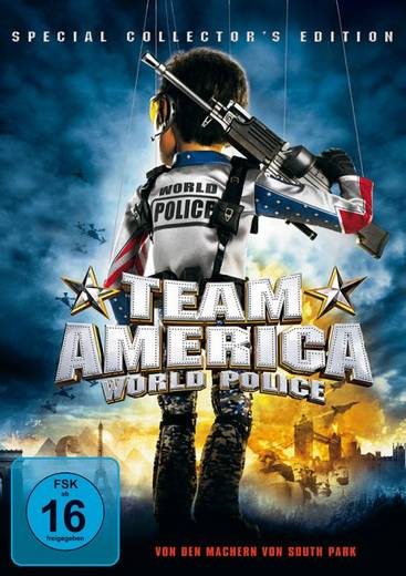 DVD Team America World Police FSK: 16