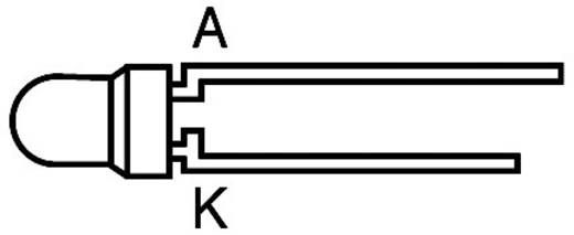 LED bedrahtet Rot Rund 3 mm 3.75 mcd 60 ° 2 mA 1.75 V Kingbright L-934LID