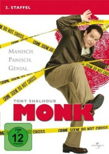 DVD Monk FSK: 12