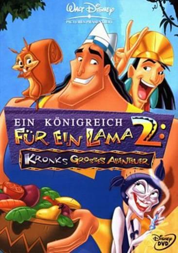 DVD Ein Königreich für ein Lama 2 Kronks großes Abenteuer FSK: 0