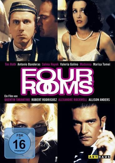 DVD Four Rooms FSK: 16